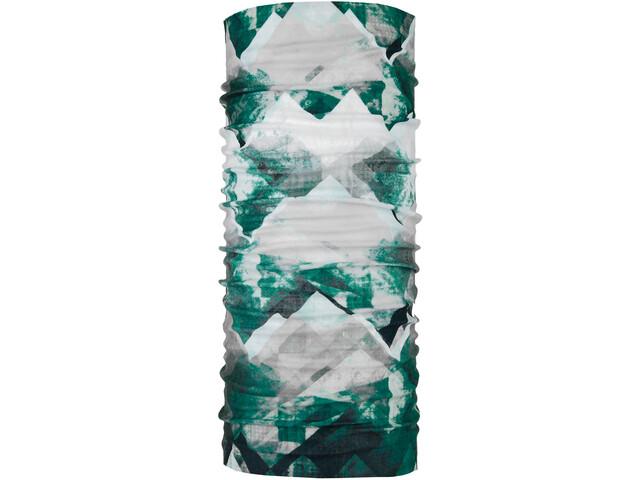 P.A.C. Original Loop Sjaal, wit/groen